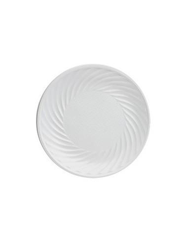 Plato Desechable Blanco x 25 $ 1.200