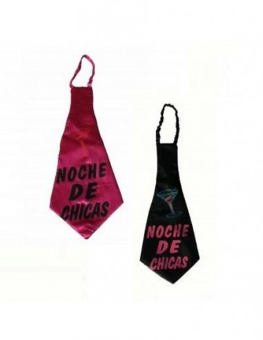 Corbata Noche de Chicas Despedida Soltera  Despedida de Solter@s