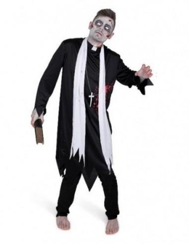 Disfraz Cura Zombie Adulto  Disfraces Adultos