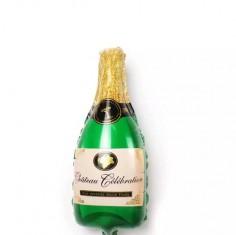 Globo Metálico Botella Champaña $ 1.600