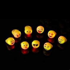 Anillo Luminoso Emoji  Cotillon Luminoso y Flúor