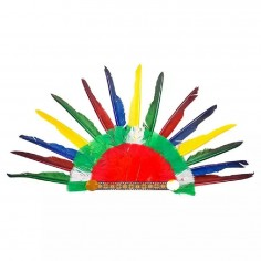 Peluca Afro Gigante Payaso