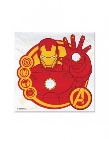 Servilleta Avengers x 12  Cotillon Avengers
