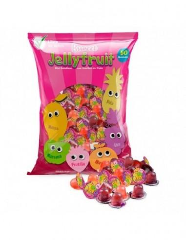 Gelatinas Dulces con Frutas Sorpresa x 50  Dulces para Sorpresas