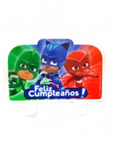 Vela PJ Masks  Cotillón PJ Masks