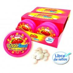 Dulce Candy Sour Frutilla 16 grs x 24  Dulces para Sorpresas