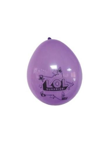 Globo Cumpleaños LOL x 12  Cotillón LOL