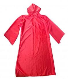Túnica con Capucha Roja Disfraz  Cotillón y Disfraces Halloween