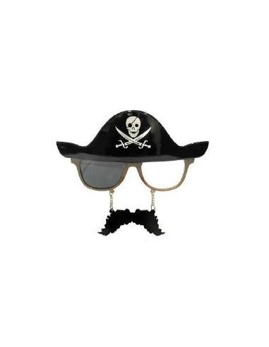 Anteojos Pirata Premium  Accesorios Cotillón