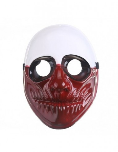 Máscara Payday Wolf  Antifaces y Máscaras