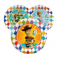 Plato Toy Story x 6  Cotillón Toy Story