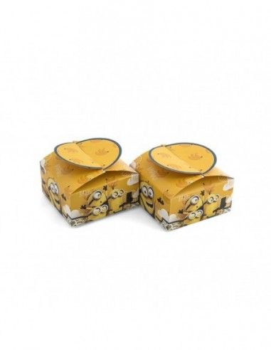 Caja Sorpresa Minions x 6  Cotillón Minions