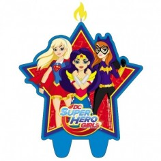 Vela Super Hero Girls  Cotillón Super Hero Girls