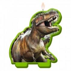 Vela Dinosaurio 2D  Cotillon Dinosaurio