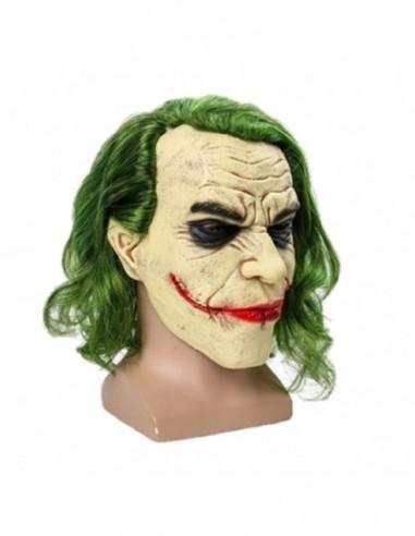Máscara Látex Guasón Joker  Antifaces y Máscaras