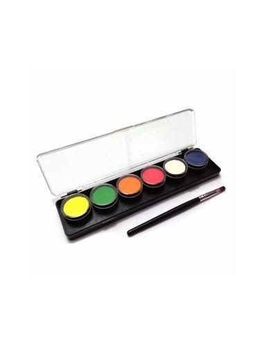 Set Pintura Colores  Accesorios Cotillón