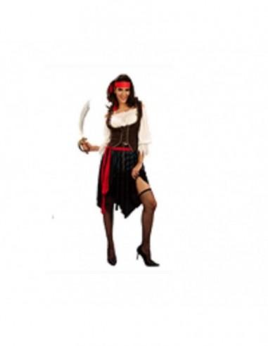 Disfraz Pirata Mujer Adulto $ 17.000