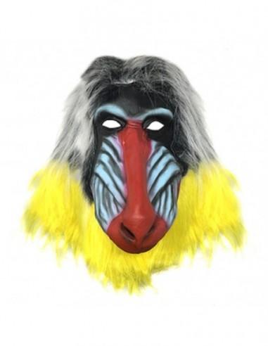 Máscara Mono Rafiki Rey León  Cotillón y Disfraces Halloween
