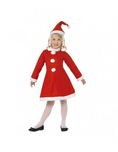 Disfraz Pascuera Navidad NIÑA  Decoración y Cotillón Navidad