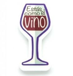 """Vela """"Estás Cómo el Vino""""  Velas"""