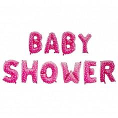 Guirnalda Globos Letras Baby Shower Niño y Niña $ 3.000