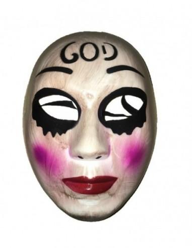 Máscara La Purga God  Antifaces y Máscaras