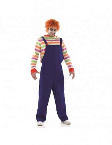 Disfraz Muñeco Diabólico Chucky ADULTO  Disfraces Adultos