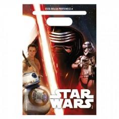 Bolsa Dulces Star Wars x 6  Cotillón Star Wars