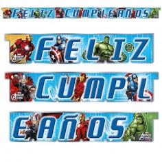 Feliz Cumpleaños Avengers  Cotillon Avengers