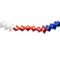 Guirnalda Tricolor Chile  Decoración Chile
