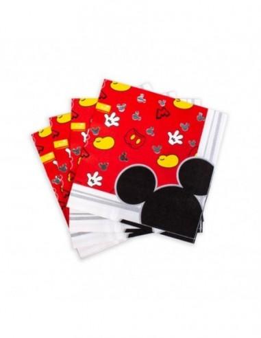 Servilleta Mickey Mouse Clásico x 12  Cotillón Mickey Mouse
