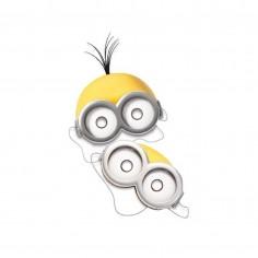 Máscara Minions x 6  Cotillón Minions