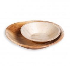 Set Bowls de Hoja de Palma x 2  Línea Ecológica