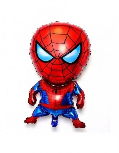 Globo Metálico Spiderman  Cotillón Spidermann