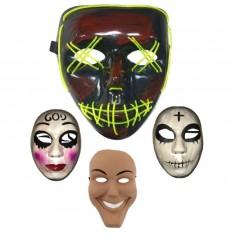 Pack Máscaras La Purga  Antifaces y Máscaras