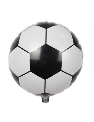 Globo Metálico Pelota de Fútbol  Cotillón Fútbol