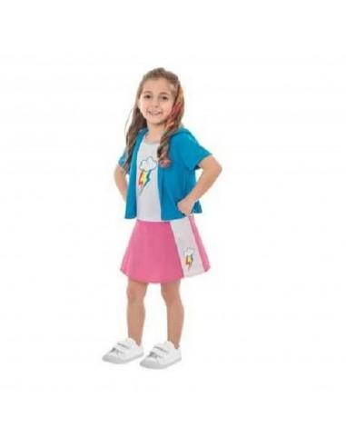 Disfraz Equestria Girl My Little Pony Rainbow Dash  Disfraces Niñas y Niños