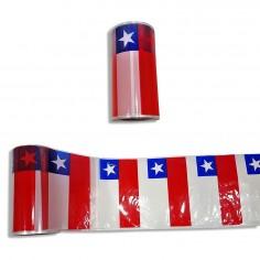 Guirnalda Bandera Chile Grande 80 mts  Decoración Chile