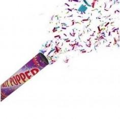 Cañon Confetti 30 cms  Accesorios Cotillón