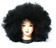 Peluca Afro Negra Gigante $ 5.000