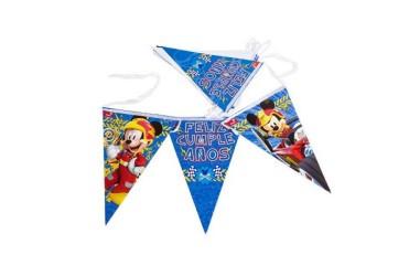 Banderín Feliz Cumpleaños Mickey Mouse $ 2.100