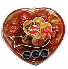 Bombón Corazón x 8  Cotillón Día de los Enamorados
