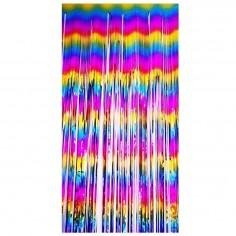 Globo Foil Gigante Arcoiris Número 2 Metalizado