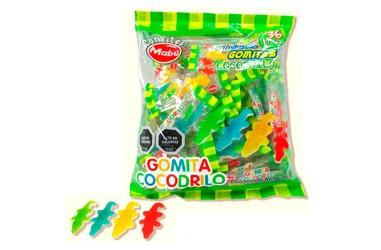 Gomita Dulce Cocodrilo Sorpresa x 36  Dulces para Sorpresas