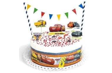 Deco Torta Cars  Cotillón Cars
