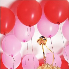 Bolsa de Dulces Cumpleaños Color Rojo  x10