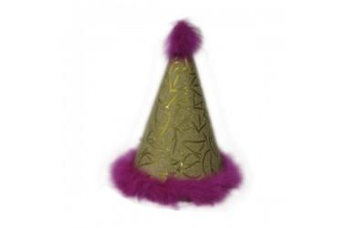 Gorro Cono Cumpleaños Fucsia  Decoración Cumpleaños y Fiestas