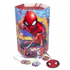 Piñata Spiderman Hexagonal  Cotillón Spidermann