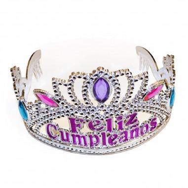 Corona Tiara Feliz Cumpleaños  Líneas Cumpleaños