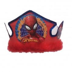 Gorro Festejado Spiderman  Cotillón Spidermann